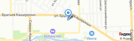 Супер Магниты на карте Челябинска