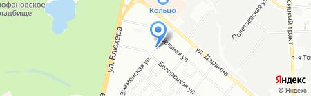 Магнит на карте Челябинска