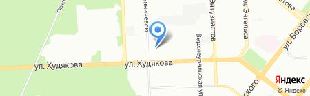 Мир экстрима на карте Челябинска