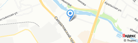 ВиКо на карте Челябинска
