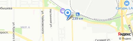 Челябинский ремонтно-инструментальный завод на карте Челябинска