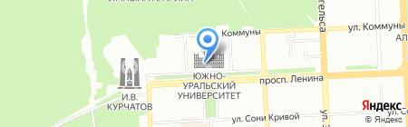 Зачет! на карте Челябинска