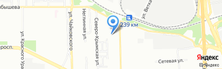 Автолак на карте Челябинска