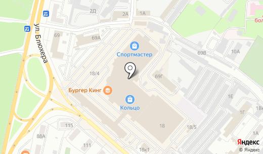 УралЭлси. Схема проезда в Челябинске