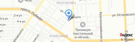 ВЕЛЕС на карте Челябинска
