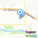 Ариадна на карте Челябинска