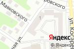 Схема проезда до компании Мэйк в Челябинске