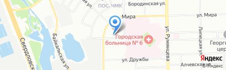 Фарт на карте Челябинска