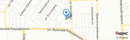 Эталон Транс на карте Челябинска