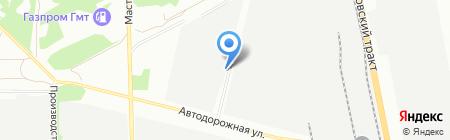УралТехСтрой на карте Челябинска