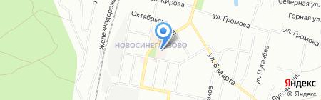 Марьям на карте Челябинска