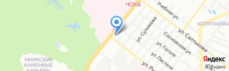 Ателье №15 на карте Челябинска