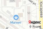 Схема проезда до компании Меланж в Челябинске