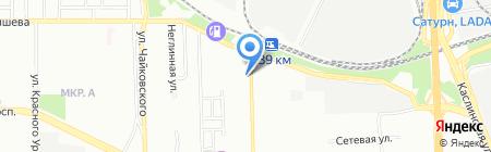УралАвто на карте Челябинска