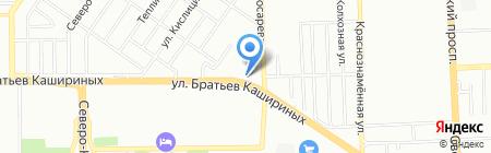 КаТрио на карте Челябинска
