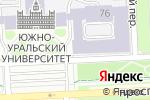 Схема проезда до компании Геоинформационные системы в Челябинске