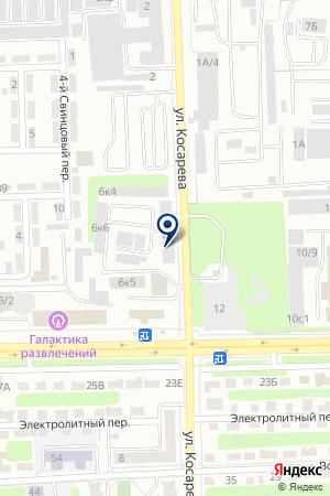 АВТО-7 (АВТО-СЕМЬ) на карте Челябинска