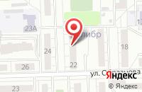 Схема проезда до компании Априори-Пресс в Челябинске