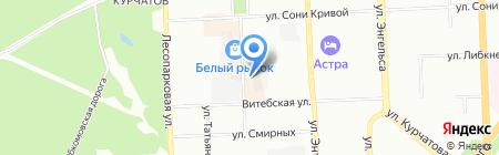 Лаборатория радиоэлектронных приборов на карте Челябинска