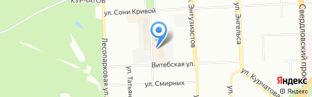НИИИТ-РТС на карте Челябинска