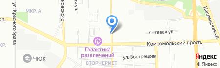 СМУ-8 на карте Челябинска