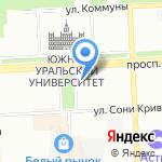 ЧелябВторСырье на карте Челябинска