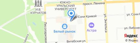 СТО АВТО на карте Челябинска
