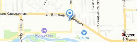 Елки-Палки на карте Челябинска