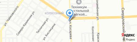Автобаня№1 на карте Челябинска