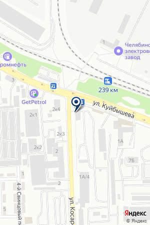 ТОРГОВАЯ ФИРМА МАКС на карте Челябинска