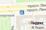 Схема проезда до компании Банкомат, Уральский банк реконструкции и развития, ПАО в Челябинске