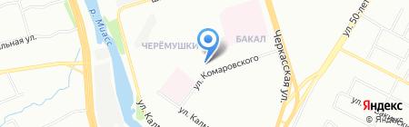 ИНОМАРКА 74 на карте Челябинска