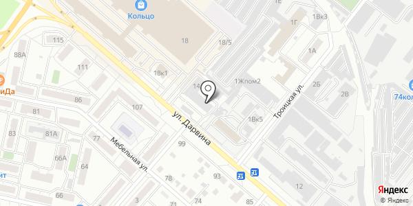SmsBliss. Схема проезда в Челябинске