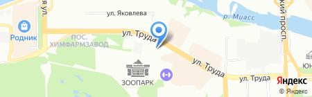 Фаворит-Принт на карте Челябинска