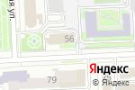 Схема проезда до компании Центр охраны труда в Челябинске