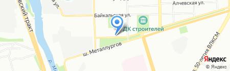 Ramaev на карте Челябинска