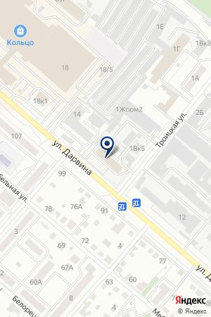 АВЛ на карте Челябинска