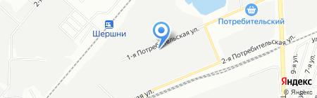 Южуралэнерго на карте Челябинска