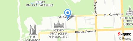 Автоюрист на карте Челябинска