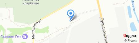 SLAVA на карте Челябинска