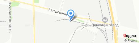 Гелиос на карте Челябинска