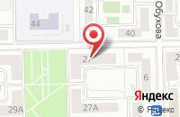 Схема проезда до компании Поволжье-Урал в Челябинске