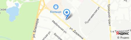 Энерго-альянс на карте Челябинска