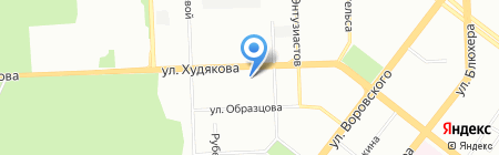МОНРО на карте Челябинска