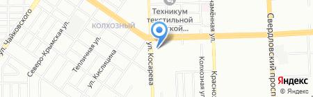УралГрадоСтрой на карте Челябинска