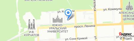 Знание-74 на карте Челябинска