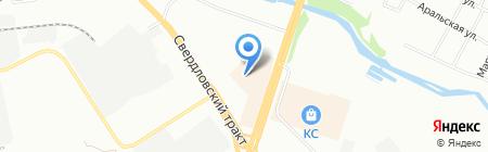 Оптово-розничная фирма на карте Челябинска