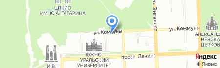 НП Союз фермерских хозяйств и сельскохозяйственных кооперативов Челябинской области на карте Челябинска