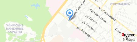 Мемориал-Сервис на карте Челябинска