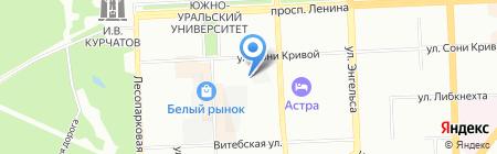 Управление Гостехнадзора Министерства сельского хозяйства Челябинской области на карте Челябинска